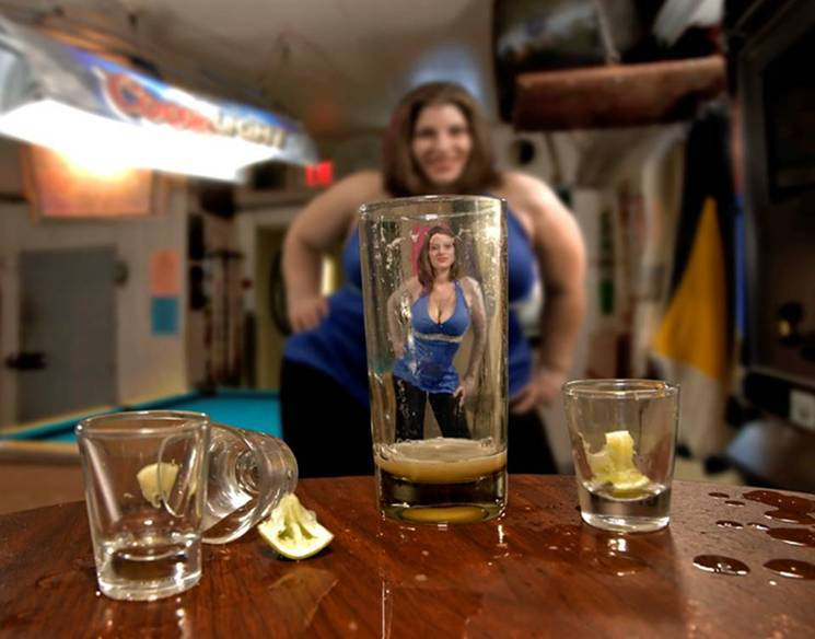 """The 'beer goggles' phenomenon may well be attributed to a psychological ..."
